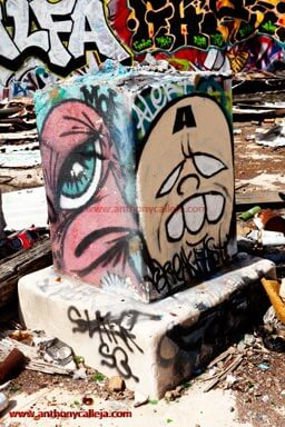 Hawaii Graffiti Photography