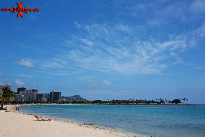 Ala Moana Beach Park - Magic Island Oahu Hawaii
