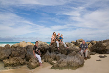 Bellows Beach Portrait Photography