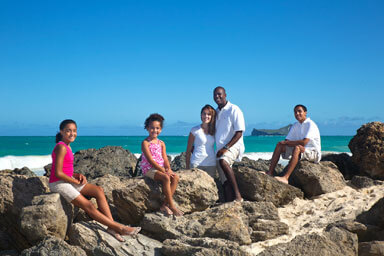 Bellows Beach Vacation Portrait Photography