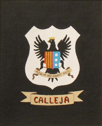House of Calleja - Calleja Coat of Arms