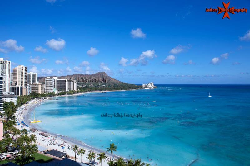 Diamond Head Magic Island Honolulu Seascape Photography