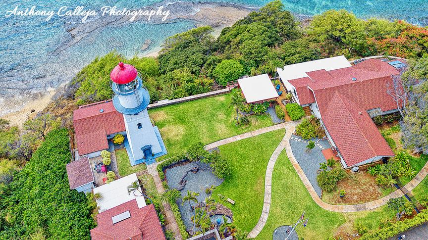 Photo of the Diamond Head Lighthouse photographed with the DJI Mavic Pro
