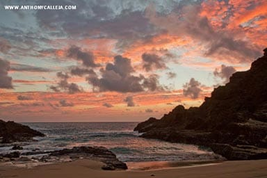 Eternity Beach at Dawn Oahu Hawaii