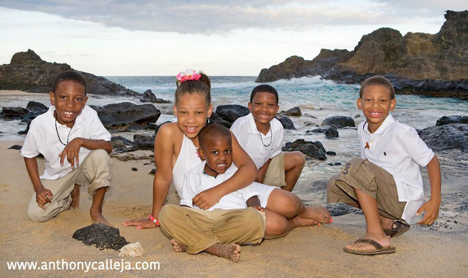 Family Portrait Photography Eternity Beach Oahu