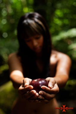 First Sin _ The Temptation of Eve | Hawaii Art Photography