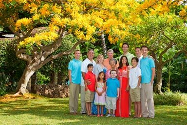 Hale Koa Hotel Family Portrait Photography