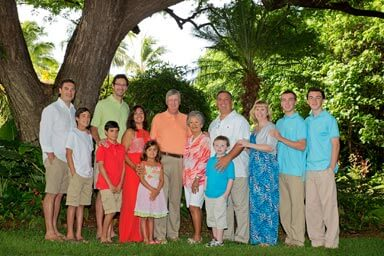 Hale Koa Hotel Family Portrait Photography Waikiki