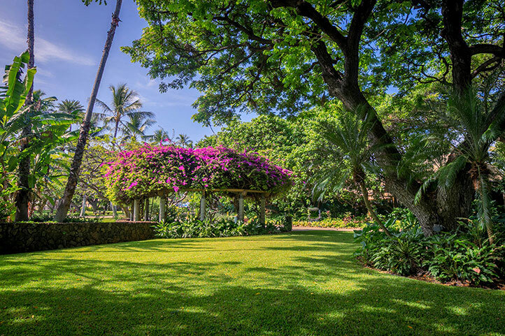 Meeting Location, Grounds at Hale Koa Hotel, Honolulu, Hawaii