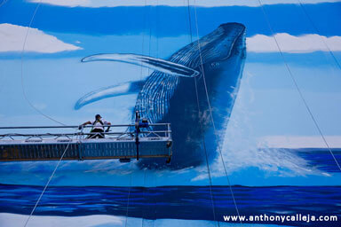 Hawaii Artist Wyland at Work