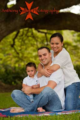 Oahu Family Portraits, Moanalua Gardens, Honolulu