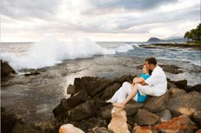 KoOlina Engagement Portrait Photography