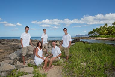 Koolina Family Portrait Photography