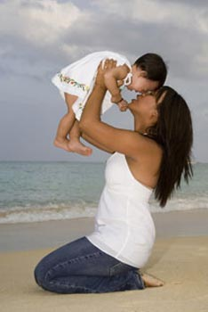 Mother and child Koolina Family Portrait Photography