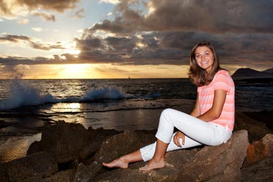 Honolulu Senior Portraits