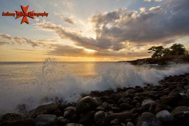 Black Rock Beach Sunsets Oahu Sunset Photography