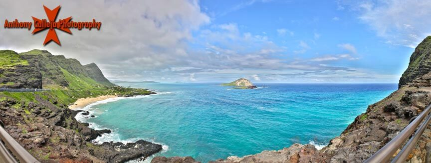 Rabbit Island photographed at the back of Makapuu pier Oahu Hawaii