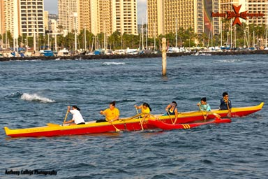 Hawaii Canoe Race, Magic Island, Honolulu, Oahu, Hawaii