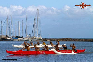 Honolulu Canoe Race, Magic Island, Honolulu, Oahu, Hawaii