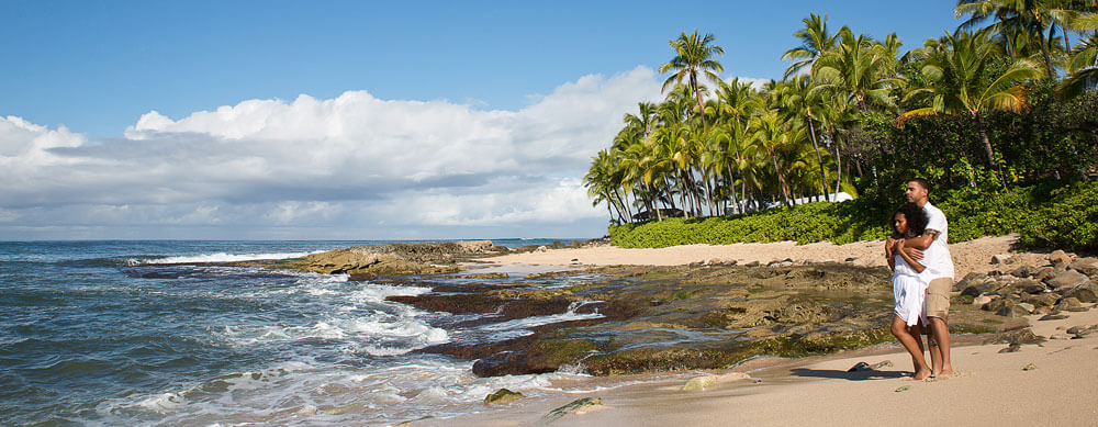 Beach Honeymoon Photography - Koolina Resort Oahu, Hawaii
