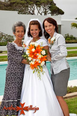 Laie LDS Temple Wedding photographers