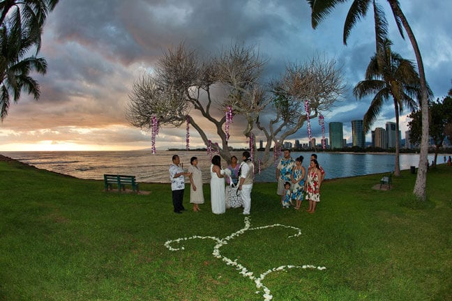 Magic Island, Wedding Photography Honolulu, Hawaii