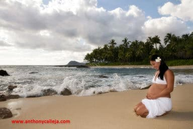 Koolina tropical maternity photography