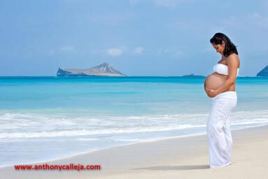Waimanalo Maternity Portrait Photography