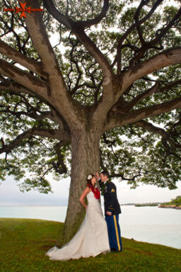 Oahu Military Wedding Photography