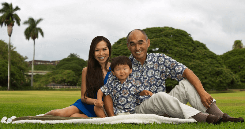Oahu Family Photography - Moanalua Gardens, Honlulu, Hawaii