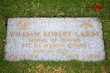 Private First Class William Robert Caddy, (August 8, 1925 – March 3, 1945)