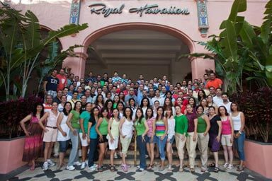 Nestle Purina Group Corporate Photo - Photographed at the Royal Hawaiian Hotel, Waikiki