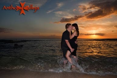 Oahu Sunset Couples Photography