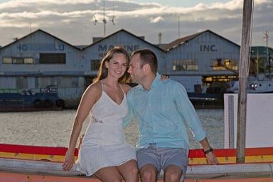 Oahu Couples Photography Kewalo Basin Harbor Honolulu