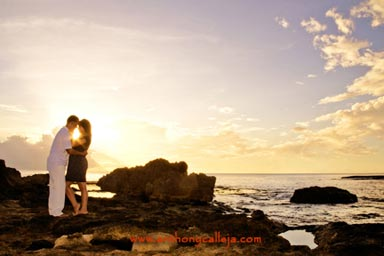 Oahu Engagement Portrait Photography