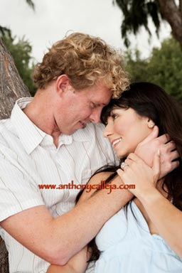 Engagement Couples Portrait Waimanalo Beach Oahu Hawaii