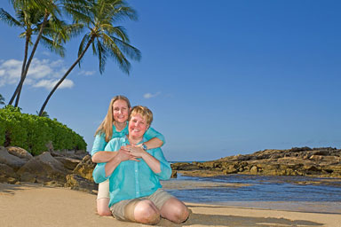 Oahu Beach Family Portraits