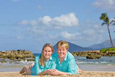 Oahu Beach Family Vacation Portraits