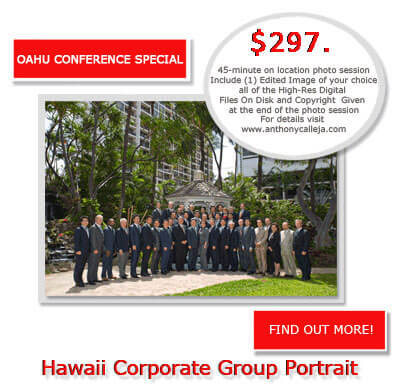 Oahu Group Portrait Photography Services