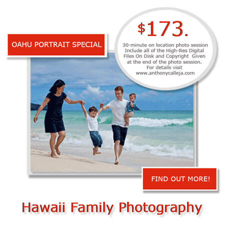 Honolulu Portrait Photography romantic fun engagement photos Waimanalo beach oahu hawaii