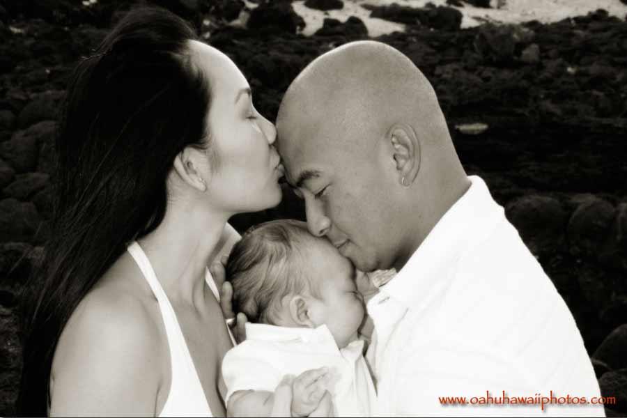 Honolulu newborn photos