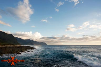 Seascape Photography, Kaena Point, Waianae Coast, Oahu, Hawaii