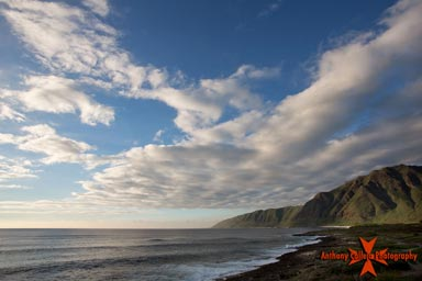 Seascape Photography, Makua Beach Waianae Coast, Oahu, Hawaii