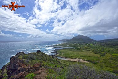 view of south east Oahu Makapuu trail