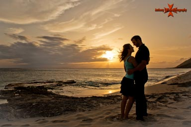 Yokahama beach Couples Photography Oahu Hawaii
