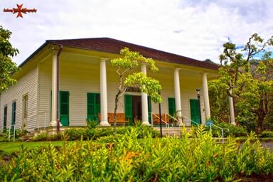 Known as Hanaiakamalama, Queen Emma Summer Palace was the summer retreat of Queen Emma, wife of King Kamehameha IV