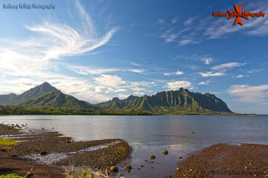 seascape Photography, Koolau Mountain Range,Waiahole Oahu, Hawaii