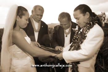 Hawaiian Wedding Photography