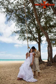 Hawaii Beach Wedding Photography