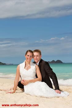 wedding photography waimanalo